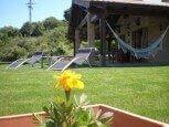 Jardines en casa rural Haritzalotz, Zurucuáin, Tierra Estella :: Agroturismo en Navarra