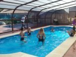 Casa rural Haritzalotz, piscina :: Agroturismo en Navarra