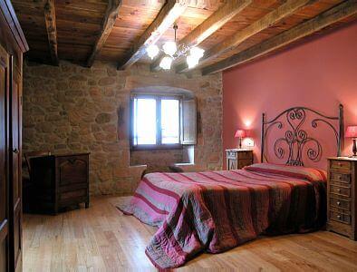 Habitación de casa rural Kastonea, Erratzu, Valle de Baztan :: Agroturismo en Navarra