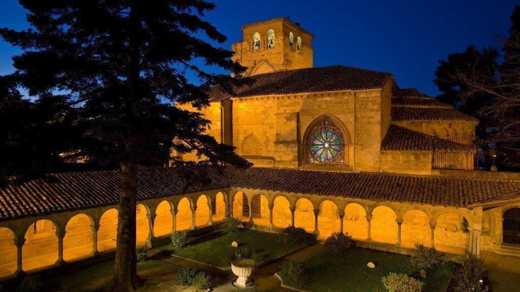 Claustro de San Pedro de la Rúa, Estella :: Abelore, casas rurales de agroturismo en Navarra
