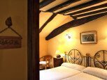 Casa rural Jauregia, Aniz, Valle de Baztán, habitación :: Agroturismo en Navarra