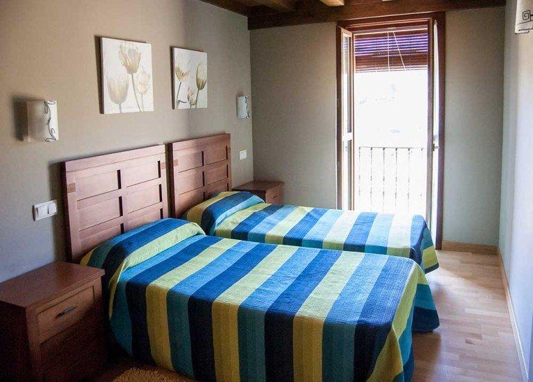 Habitación en casa rural La Sacristana, Lácar, Tierra Estella :: Agroturismo en Navarra