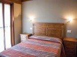 Dormitorio en casa rural La Sacristana, Lácar, Tierra Estella :: Agroturismo en Navarra