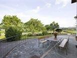 Casa rural Loretxea, terraza :: Agroturismo en Navarra