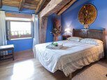 Dormitorio de casa rural Etxeberria, Oskoz :: Agroturismos en Navarra