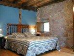 Dormitorio de casa rural Ballenea, Erratzu, valle de Baztan :: Agroturismo en Navarra