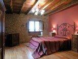 Dormitorio de casa rural Kastonea, Erratzu, valle de Baztan :: Agroturismos en Navarra