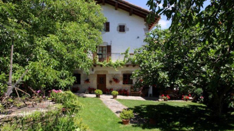 Exterior de Casa Rural Matxiñena :: Abelore, Casas Rurales de Agroturismo en Navarra