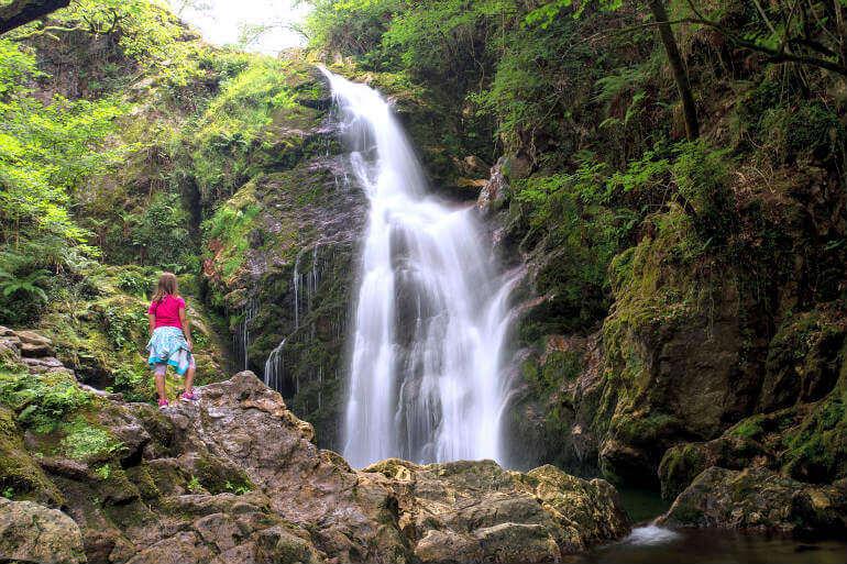 Cascada de Xorrosin, valle de Baztán :: Aberlore, casas rurales de Agroturismo en Navarra
