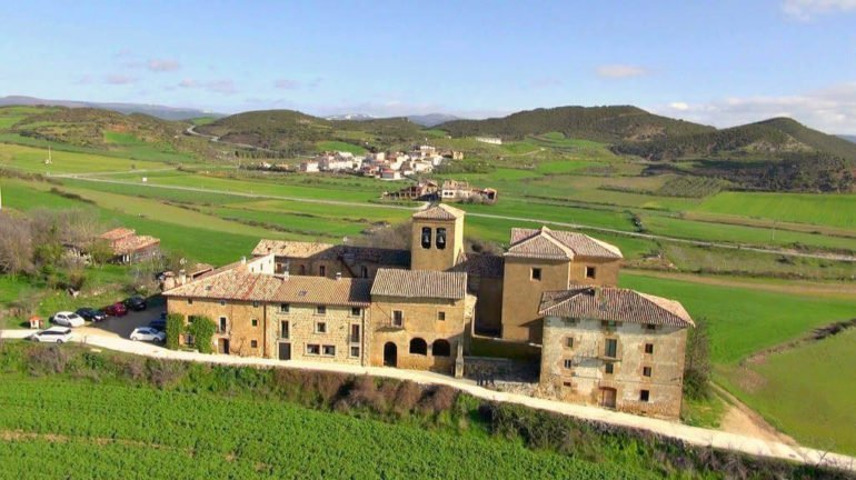 Iglesia de Santa María de Eguiarte, Lácar, Tierra Estella, Navarra :: Abelore, casas rurales de agroturismo en Navarra